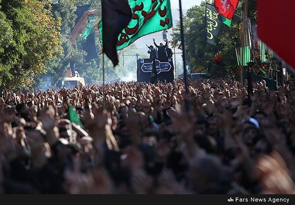 اجتماع عظیم مردم زنجان در یوم العباس(ع)