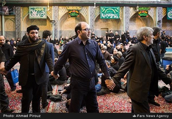 عزاداری تاسوعای حسینی در مسجد آذربایجانیها