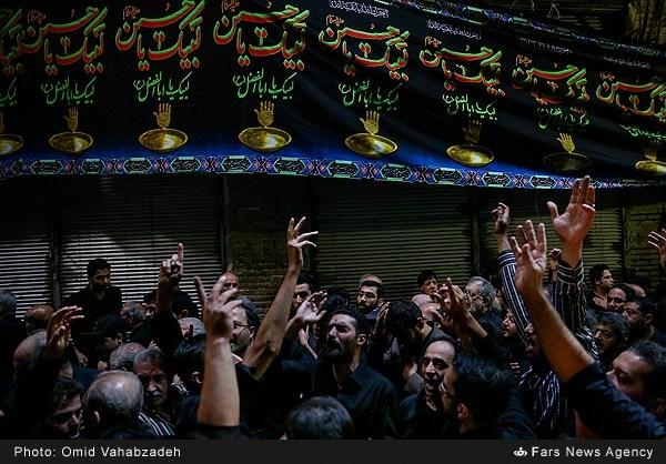 تصاویر عزاداری تاسوعای حسینی در تهران - ۲