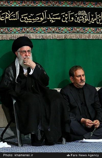 تصاویر چهارمین شب عزاداری محرم در حسینیه امام خمینی(ره)