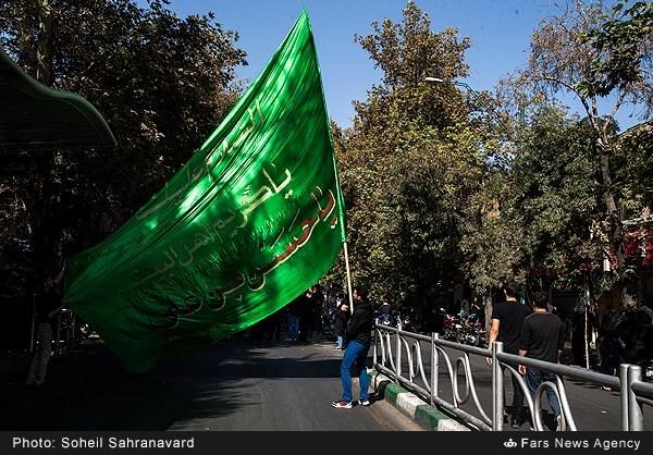 عزاداری تاسوعای حسینی در تهران - ۱