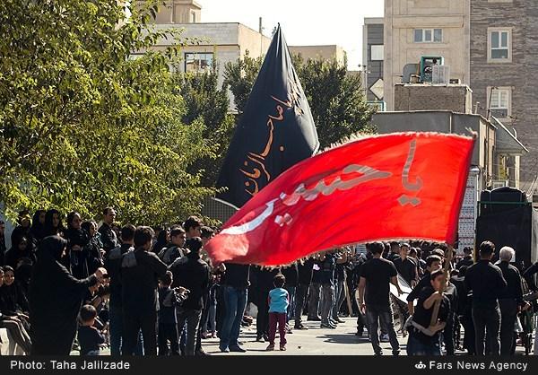 عزاداری روز عاشورا در تهران -2