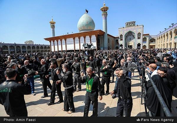 عزاداری عاشورای حسینی در شیراز