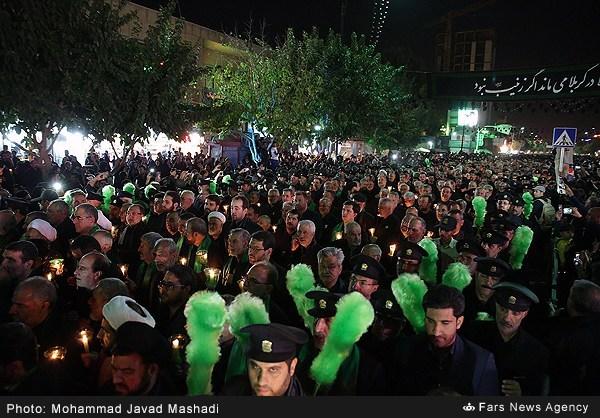 شام غریبان امام حسین(ع) در مشهد