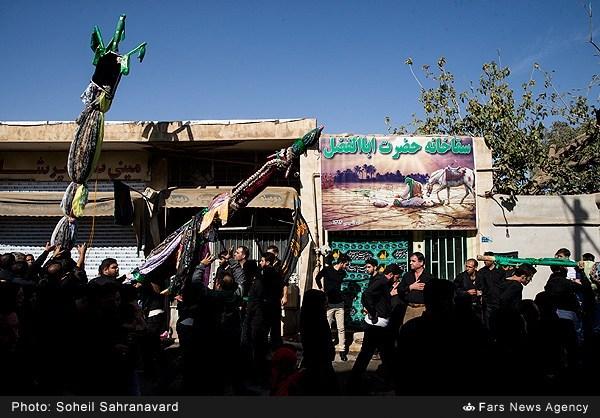 عزاداری و تعزیه روز عاشورا در روستای باغخواص ورامین