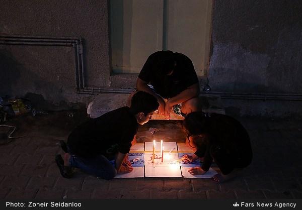 شام غریبان اباعبدالله الحسین (ع) در کربلا