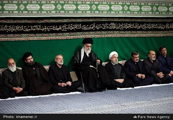 ششمین شب عزاداری محرم در حسینیه امام خمینی (ره)