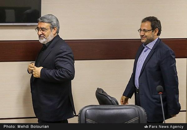 حضور و بازدید وزیر کشور از خبرگزاری فارس