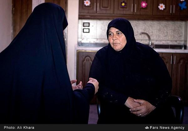 گفت و گو با مادر شهید مدافع حرم سوری