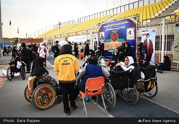 مسابقات دوومیدانی جانبازان و معلولین بانوان قهرمانی کشور