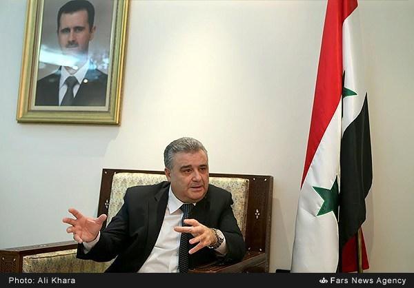 مصاحبه با محمد رامز ترجمان وزیر اعلام سوریه