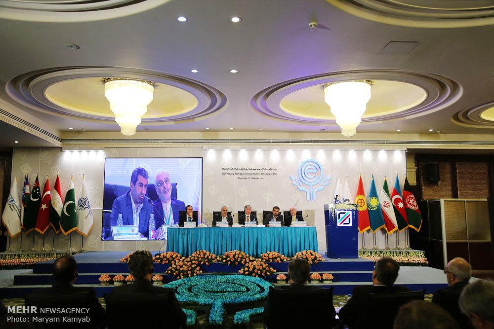 اجلاس روسای گمرکات کشورهای عضو اکو