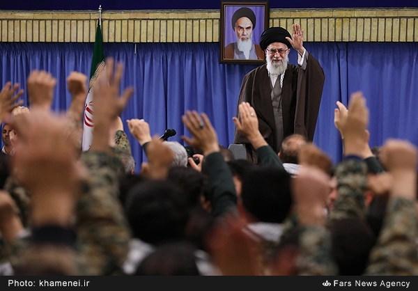 دیدار رهبر معظم انقلاب اسلامی با بسیجیان
