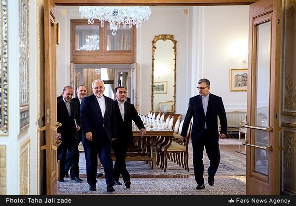دیدار وزرای امور خارجه اسلوونی و ایران