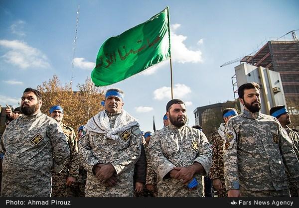 اجتماع بسیجیان سپاه تهران
