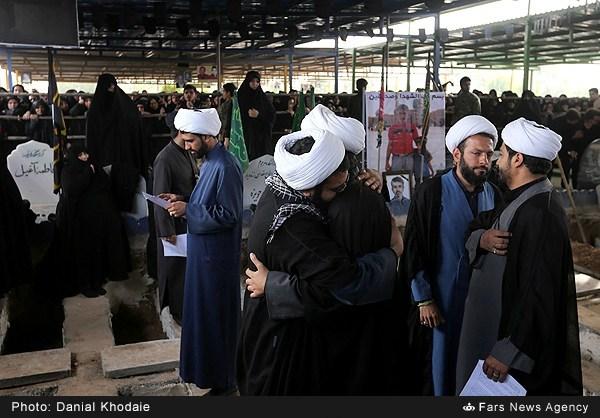 تشییع شهدای جنایت تروریستی حله در اهواز