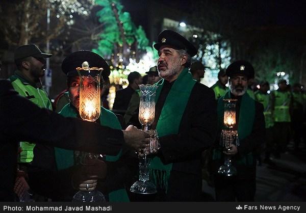 مراسم شام شهادت حضرت علی بن موسی الرضا (علیهالسلام) در مشهد