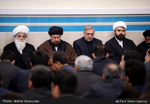 مراسم ترحیم آیت الله هاشمی رفسنجانی در دانشگاه آزاد