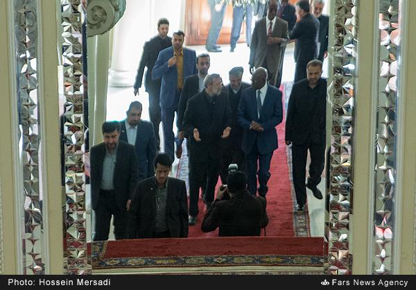 دیدار  روسای مجلس  مالی و ایران