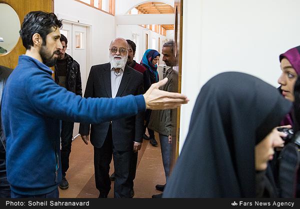 جلسه نمادین دفاع از پایاننامه شهید مدافع حرم «مصطفی کریمی»