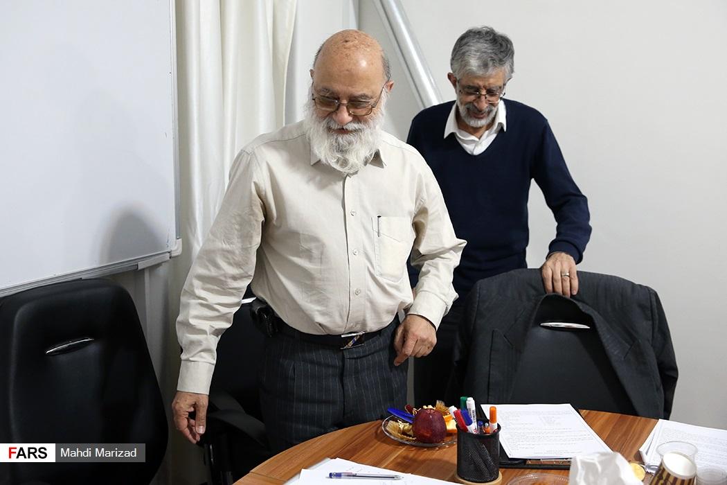 سومین جلسه شورای مرکزی جبهه مردمی نیروهای انقلاب