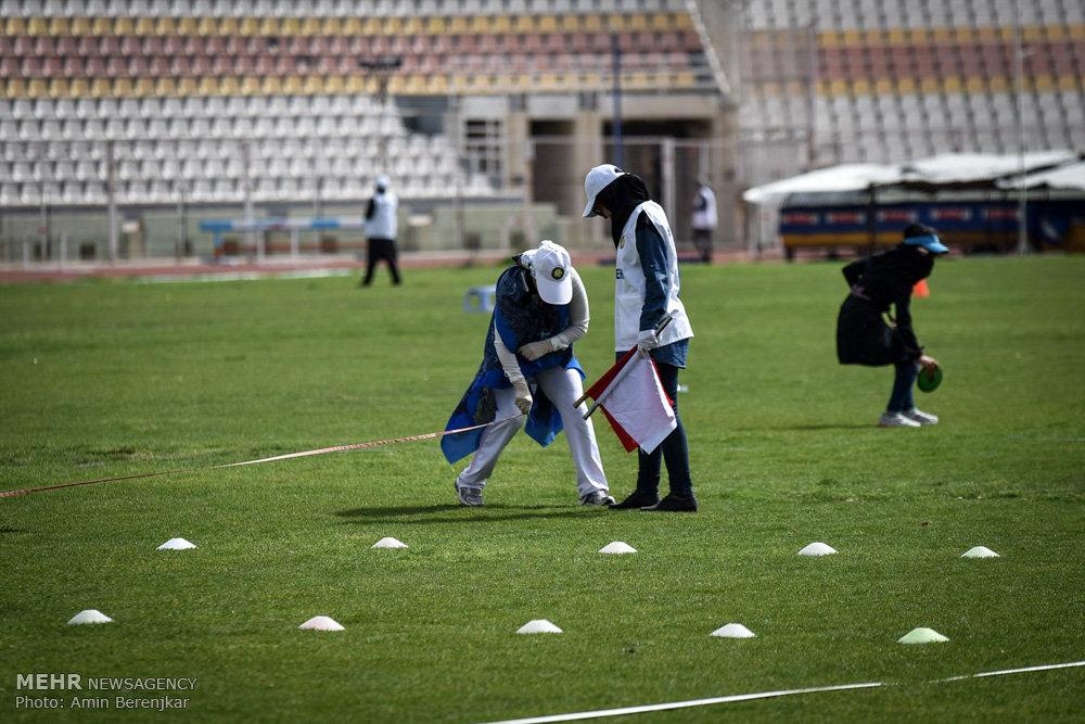 مسابقات دوومیدانی بانوان کشور در شیراز