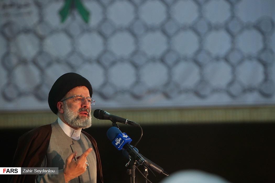 تصاویر رئیسی در جمع مردم اسلامشهر و شهریار