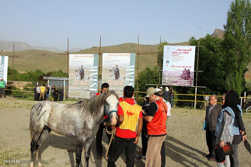تصاویر هشتمین دوره مسابقات اسب سواری استقامت کشور