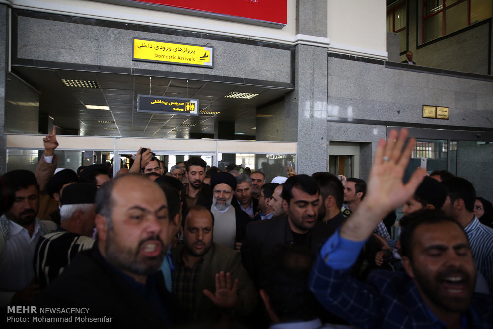 سفر حجت الاسلام سید ابراهیم رئیسی به شهرکرد