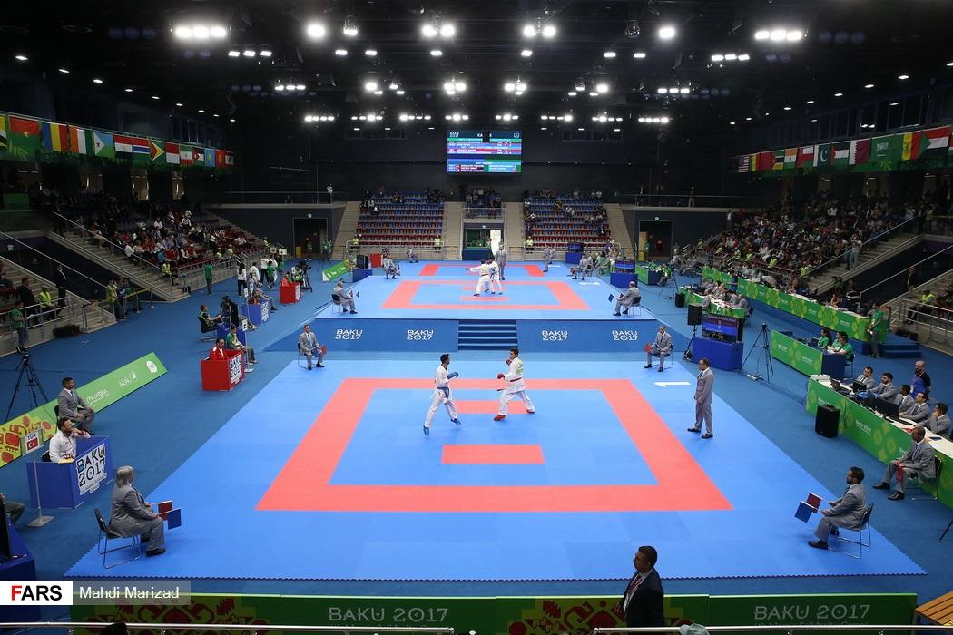 مسابقات کاراته بازیهای کشورهای اسلامی2017/باکو
