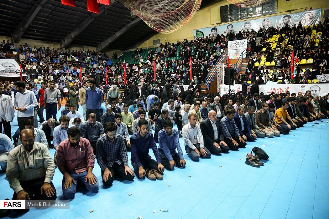 سخنرانی محمدباقر قالیباف در جمع مردم اصفهان