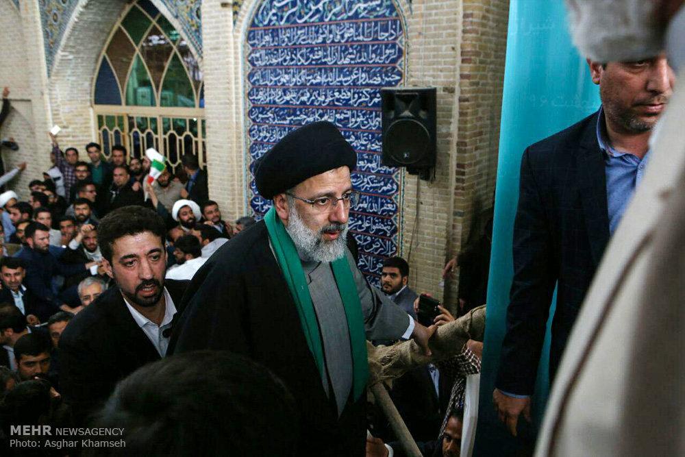 تصاویر سفر حجتالاسلام سید ابراهیم رئیسی به شیراز