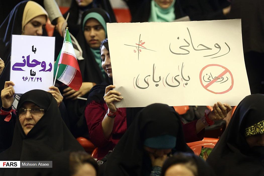سخنرانی محمدباقر قالیباف در جمع مردم رشت
