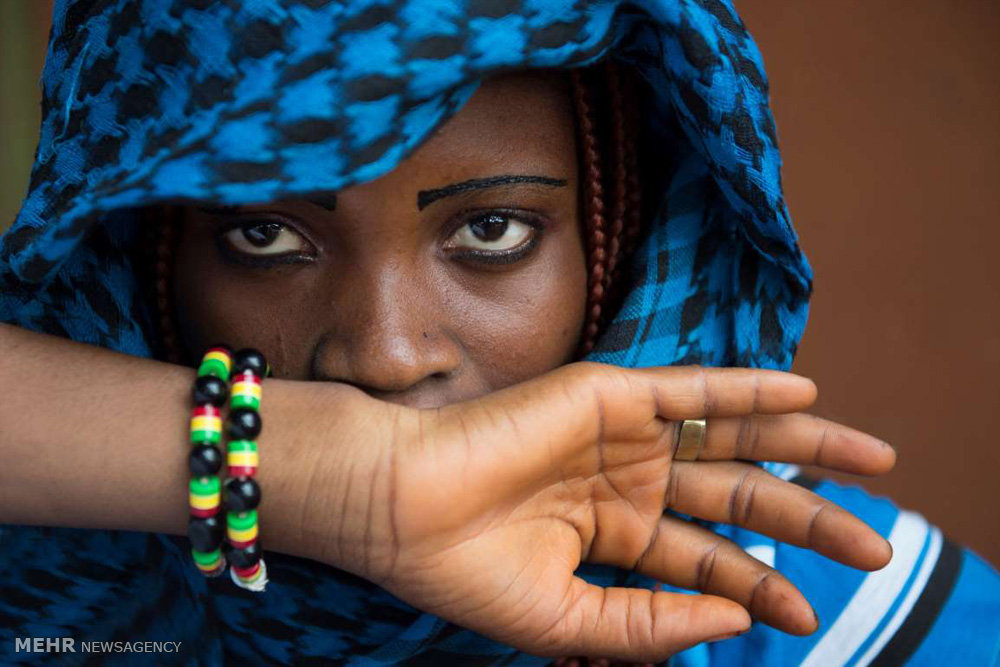 تصاویر اعضای قبایل آفریقایی