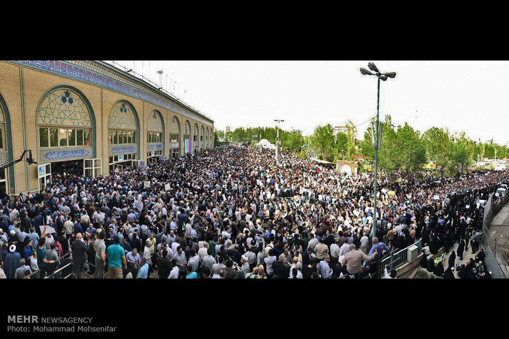 گردهمایی حامیان حجت الاسلام سیدابراهیم رییسی - ۲