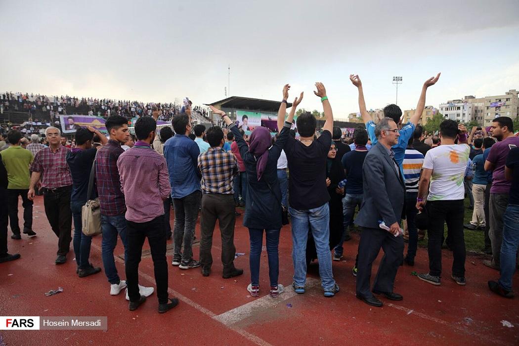 همایش حامیان روحانی در مشهد