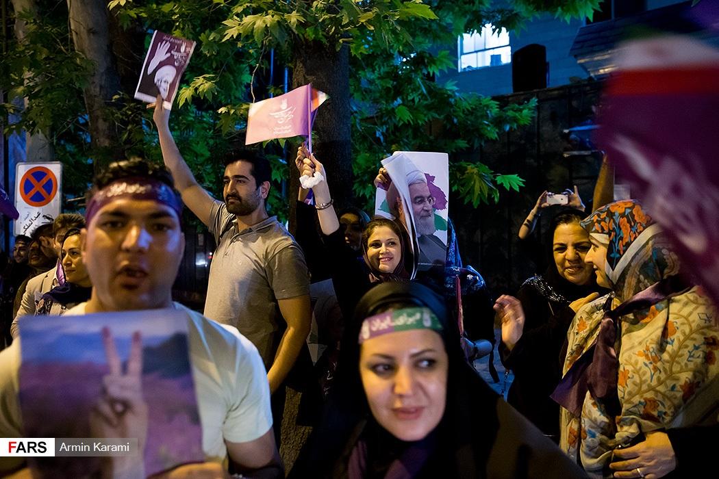 آخرین ساعات تبلیغات انتخابات ریاست جمهوری در تهران-2