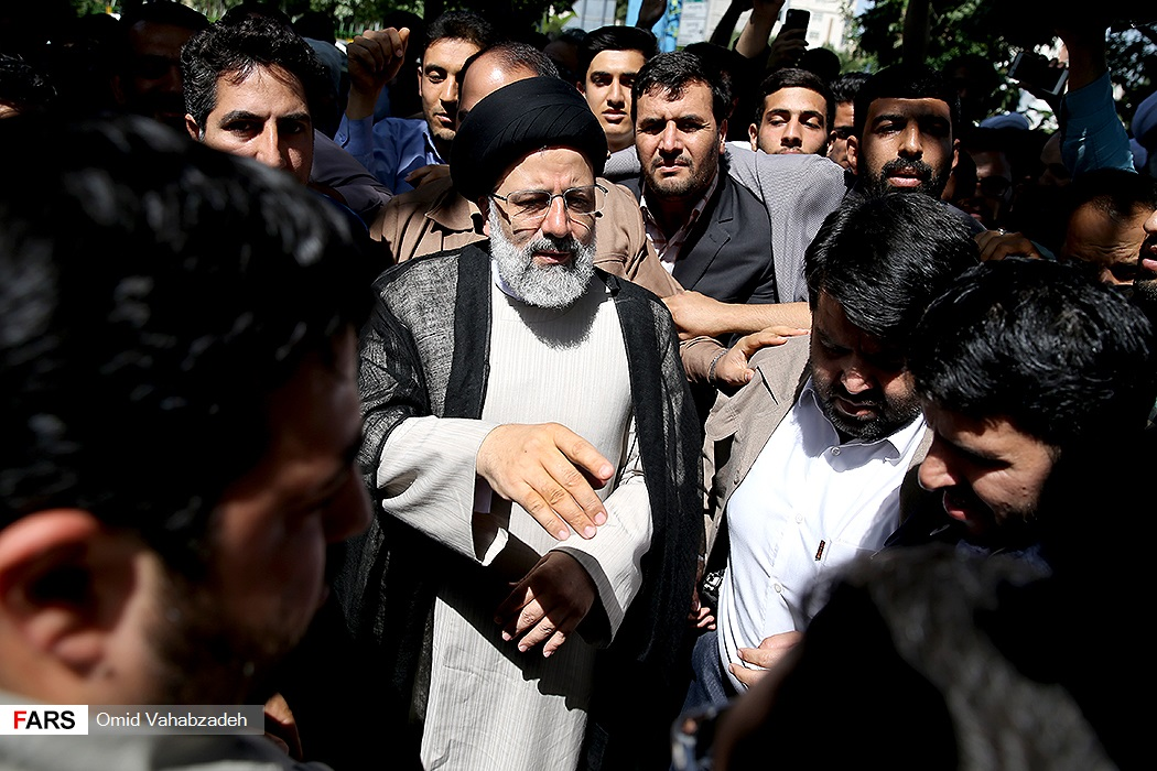 اخذ رأی حجت الاسلام سید ابراهیم رئیسی