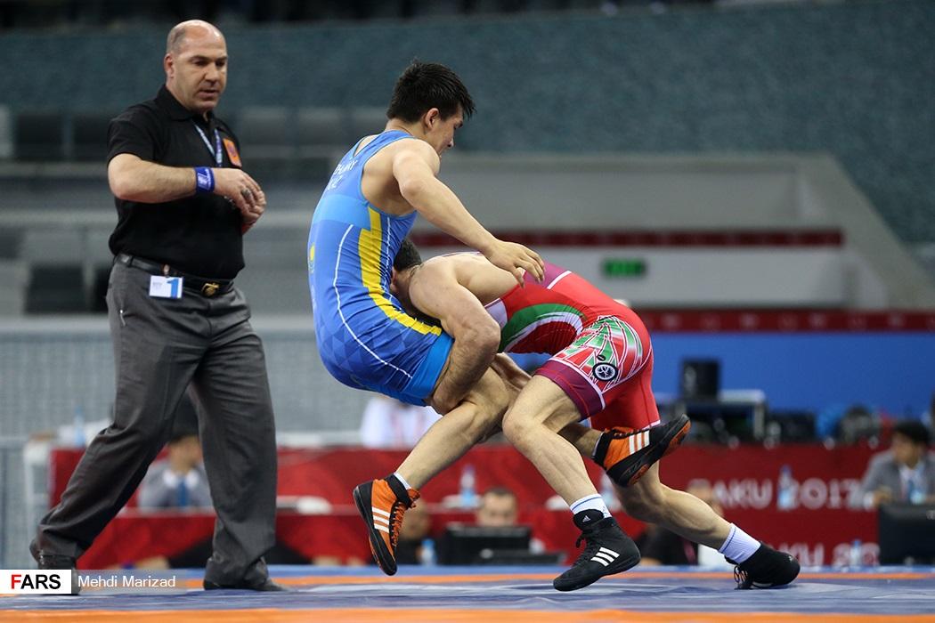 مسابقات کشتی آزاد بازیهای کشورهای اسلامی2017/باکو