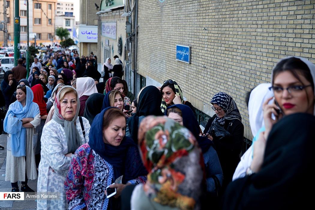 تصاویر آخرین ساعات انتخابات ریاست جمهوری و شورای شهر در تهران-2