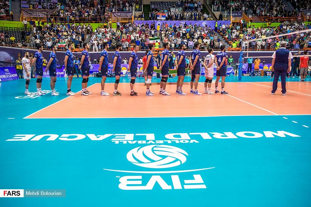 لیگ جهانی والیبال / ایران ۱ -صربستان ۳