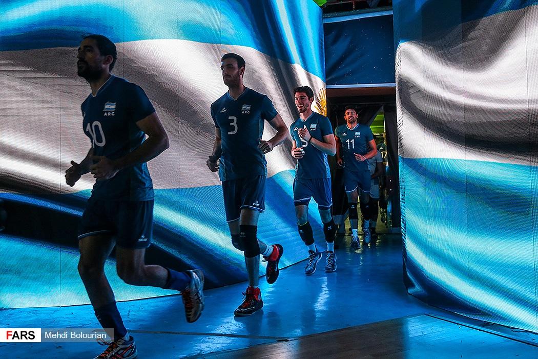 لیگ جهانی والیبال / ایران  ۲ - آرژانتین ۰