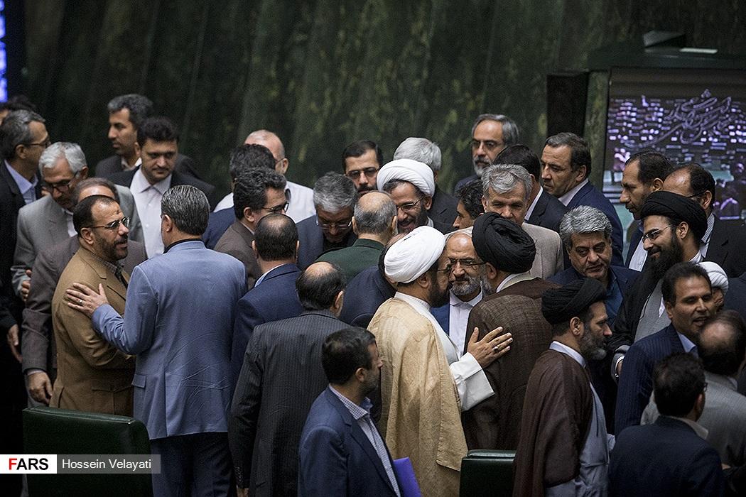نخستین جلسه علنی مجلس پس از حمله تروریستی تهران / 21 خرداد 96