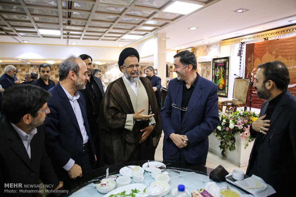 مراسم افطار کانون حرفه ای رسانه
