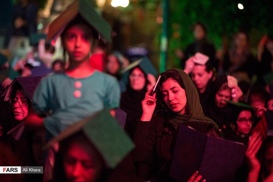احیای شب بیست و یکم ماه رمضان در پارک هنرمندان