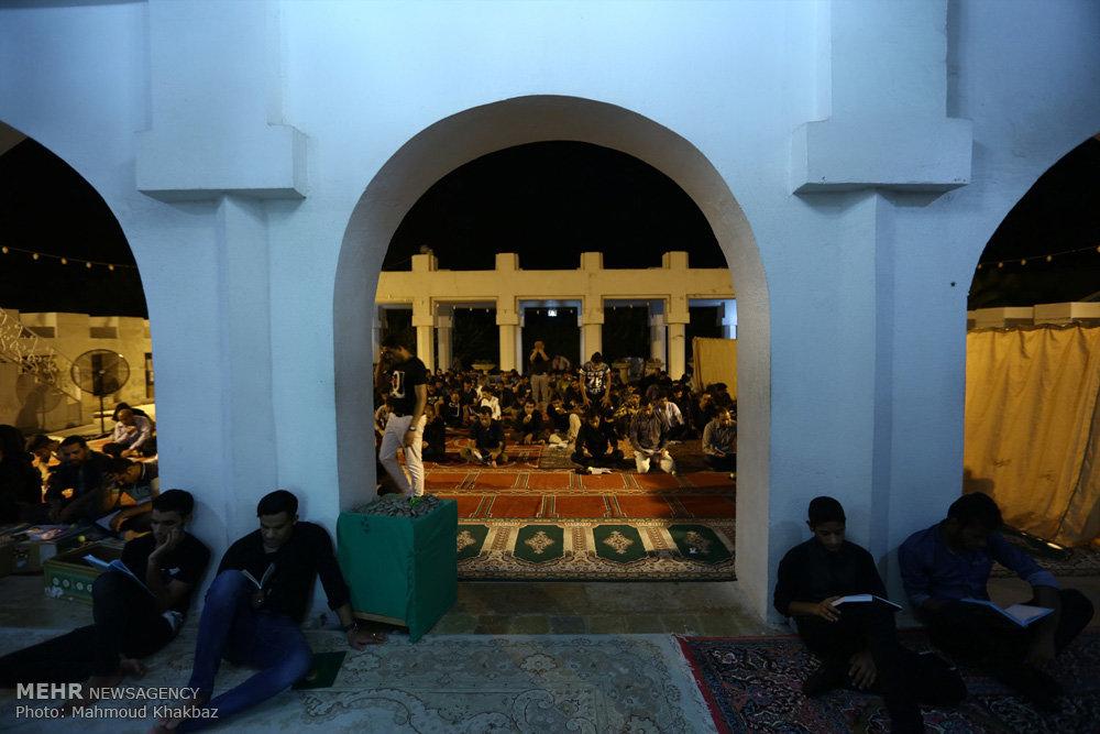 مراسم احیای شب بیست و یکم ماه رمضان در جزیره کیش