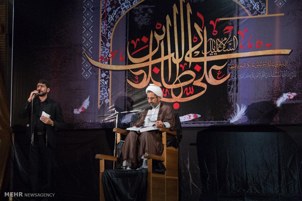 تصاویر مراسم احیای شب بیست و یکم ماه مبارک رمضان در مرکز اسلامی هامبورگ