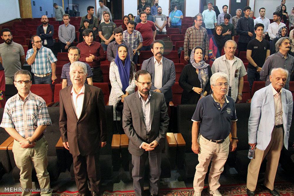 """مراسم پاسداشت محمود قنبری و رونمایی از مستند """"دنیای دیروز من"""""""