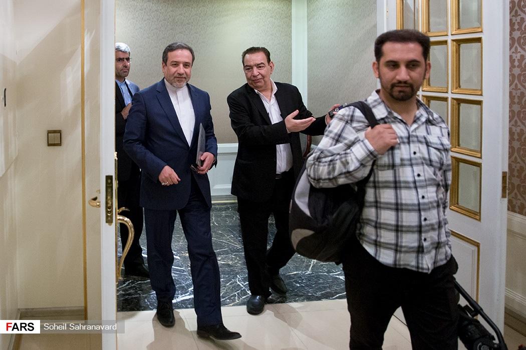 دیدار معاون وزیرخارجه روسیه با عباس عراقچی