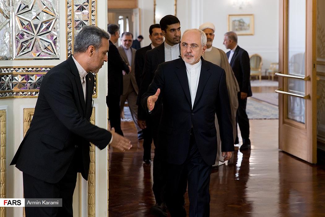 دیدار وزیر خارجه عمان با محمد جواد ظریف